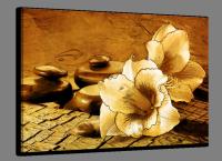 Sepia glasschilderijen