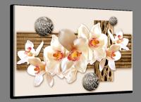 Bloemen glasschilderijen