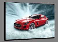 Automotive art glasschilderijen