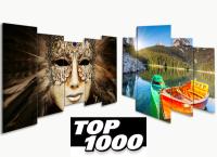 Glas schilderijen TOP 1000