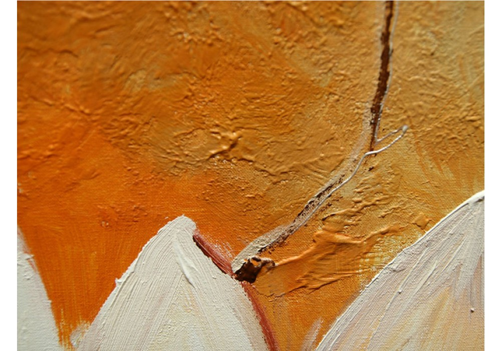 Slaapkamer Bruin Paars : Acryl schilderij slaapkamer paars bruin cm