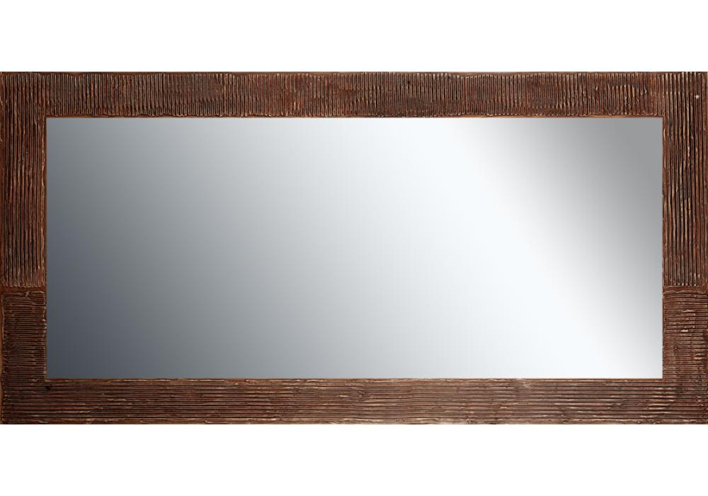 grote spiegel met houten lijst 150x 75 cm.