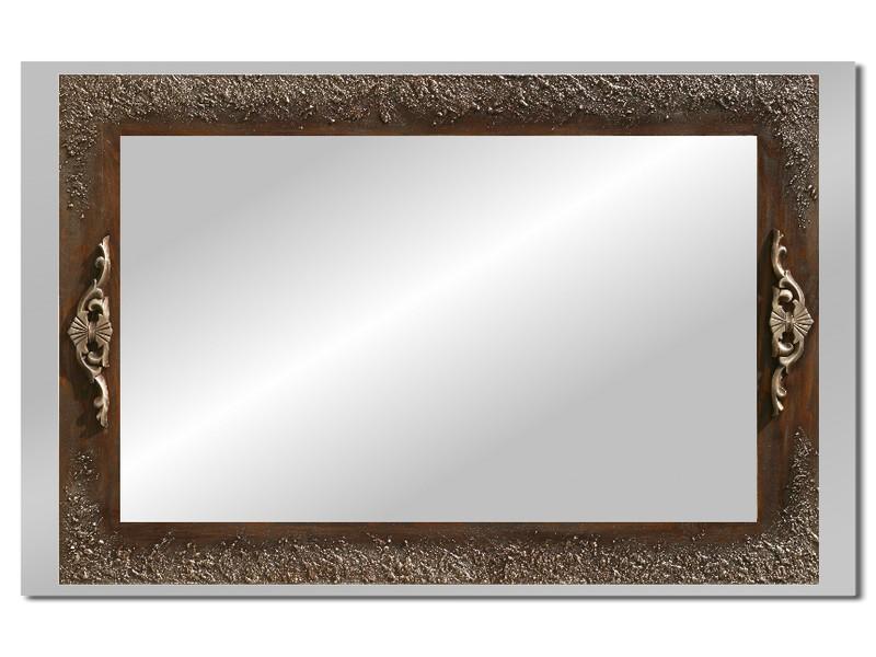 Grote spiegel met houten lijst 112 x 72 cm. L00013R