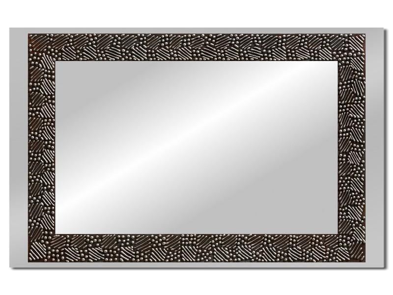 Grote spiegel met houten lijst 112 x 72 cm. L00018R
