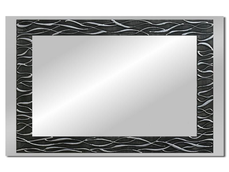 Grote spiegel met houten lijst 112 x 72 cm. L00020R