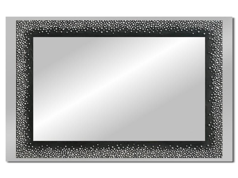 Grote spiegel met houten lijst 112 x 72 cm. L00023R