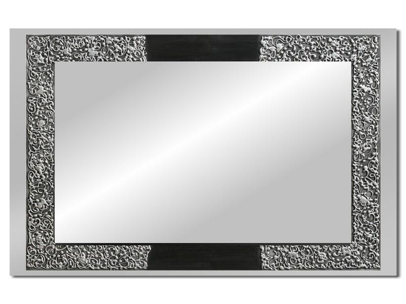 Grote spiegel met houten lijst 112 x 72 cm. L00030R