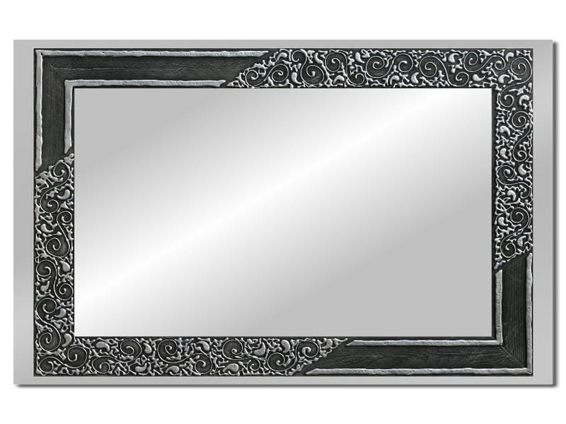 Grote spiegel met houten lijst 112 x 72 cm. L00032R