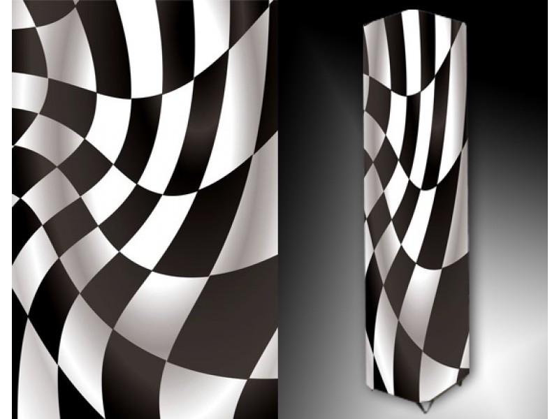 Ledlamp 10, Abstract, Zwart, Wit