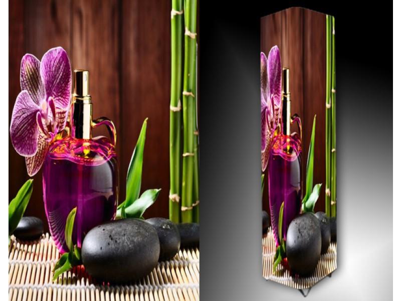 Ledlamp 1007, Orchidee, Groen, Paars, Bruin