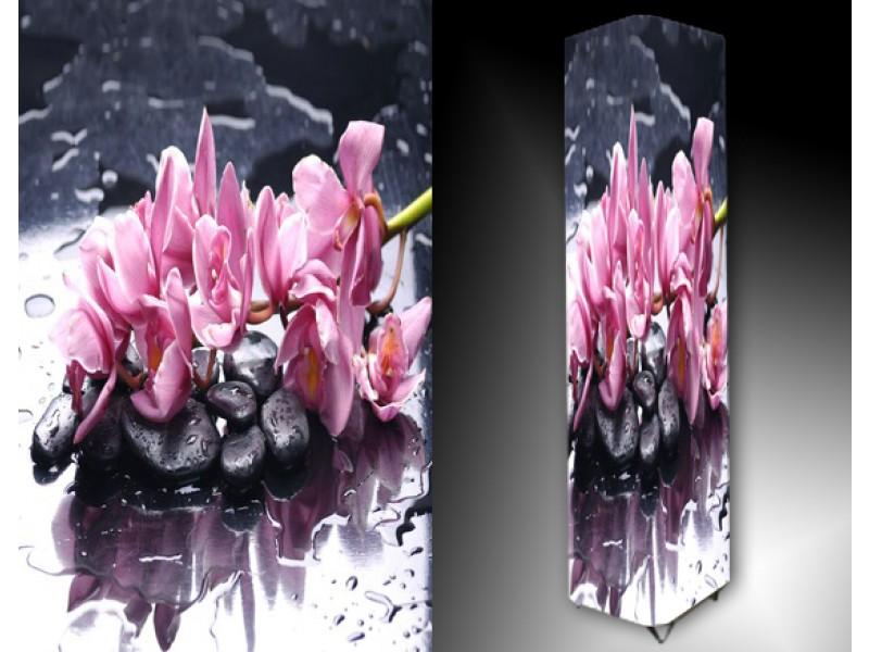 Ledlamp 1009, Orchidee, Grijs, Roze, Zwart