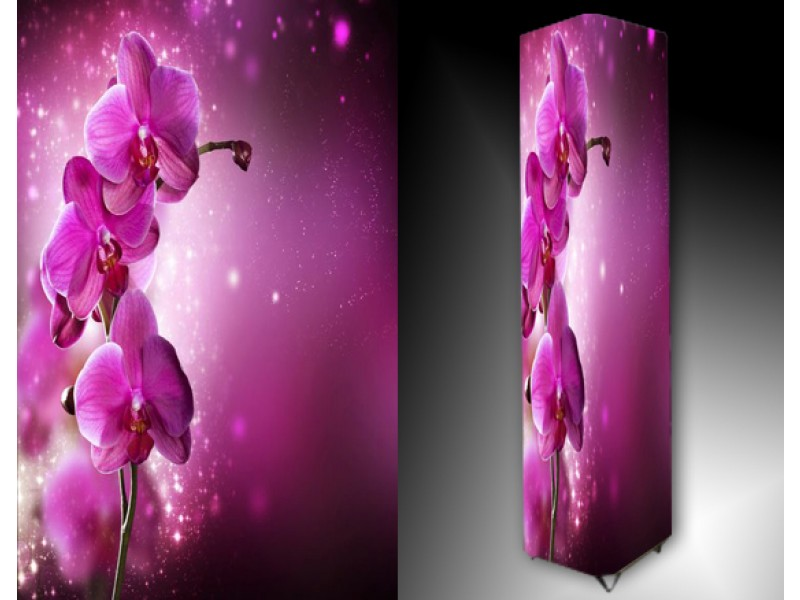 Ledlamp 1013, Orchidee, Roze, Wit