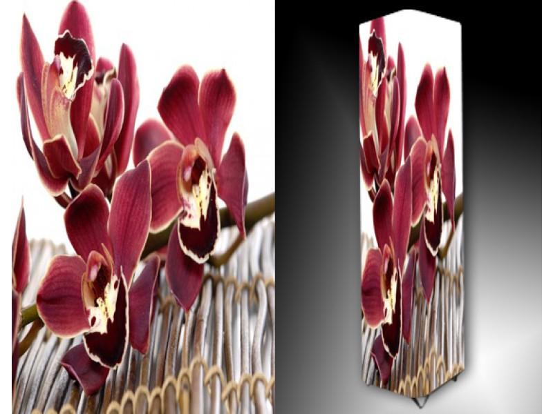 Ledlamp 1015, Orchidee, Rood, Wit, Grijs