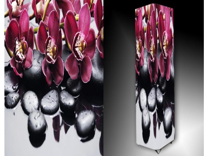 Ledlamp 1033, Orchidee, Roze, Zwart, Wit