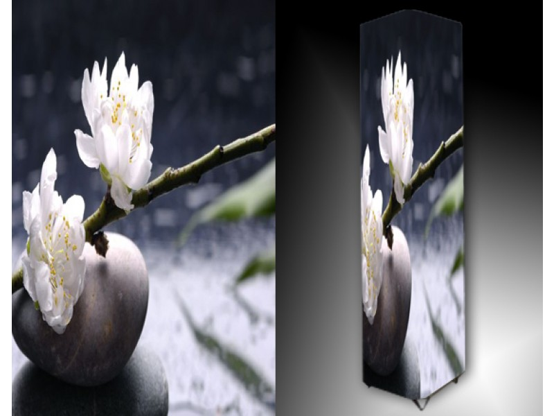 Ledlamp 1055, Bloem, Wit, Grijs, Groen