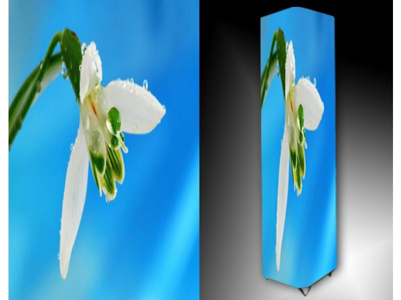 Ledlamp 1064, Bloem, Blauw, Groen, Wit