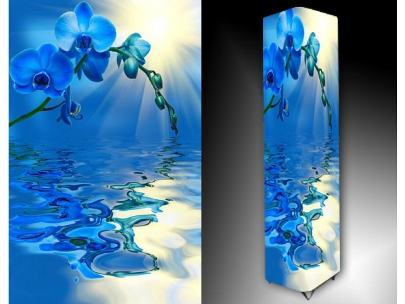 Ledlamp 1069, Orchidee, Blauw, Wit