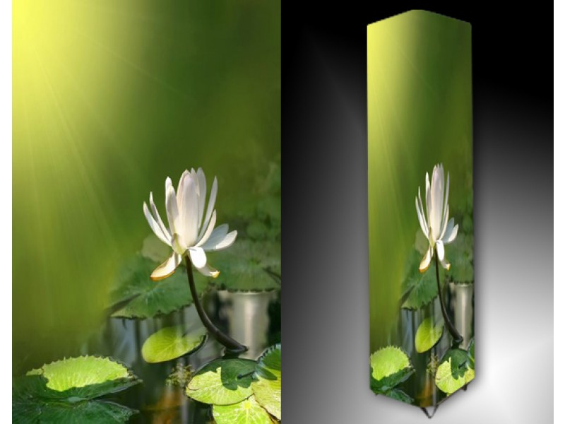 Ledlamp 1089, Bloem, Groen, Geel, Wit