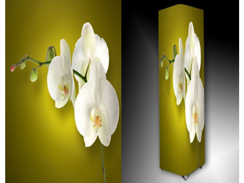 Ledlamp 1102, Orchidee, Bruin, Geel, Wit