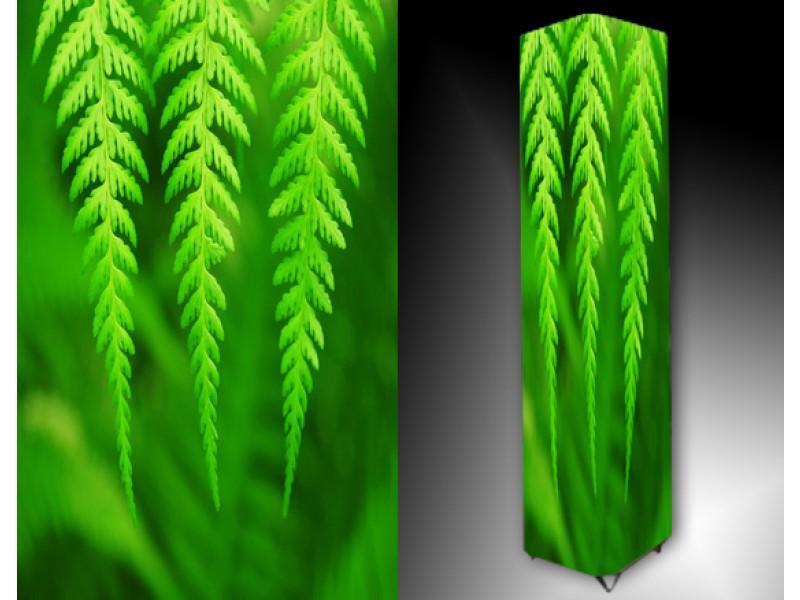 Ledlamp 112, Abstract, Groen, Wit, Zwart