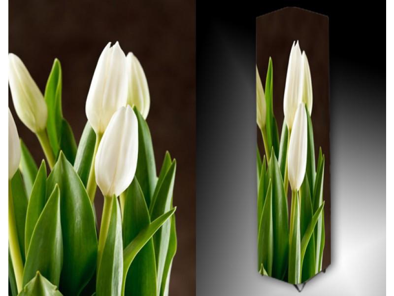 Ledlamp 1137, Tulp, Wit, Zwart, Groen