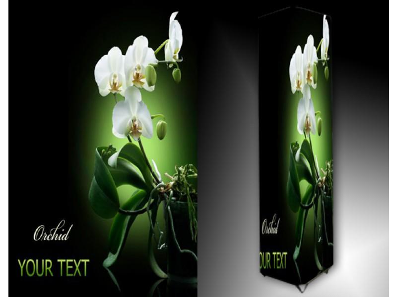 Ledlamp 1138, Bloem, Groen, Wit, Zwart
