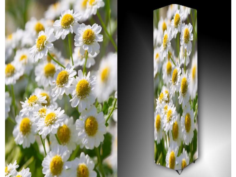 Ledlamp 1139, Bloemen, Wit, Groen, Geel