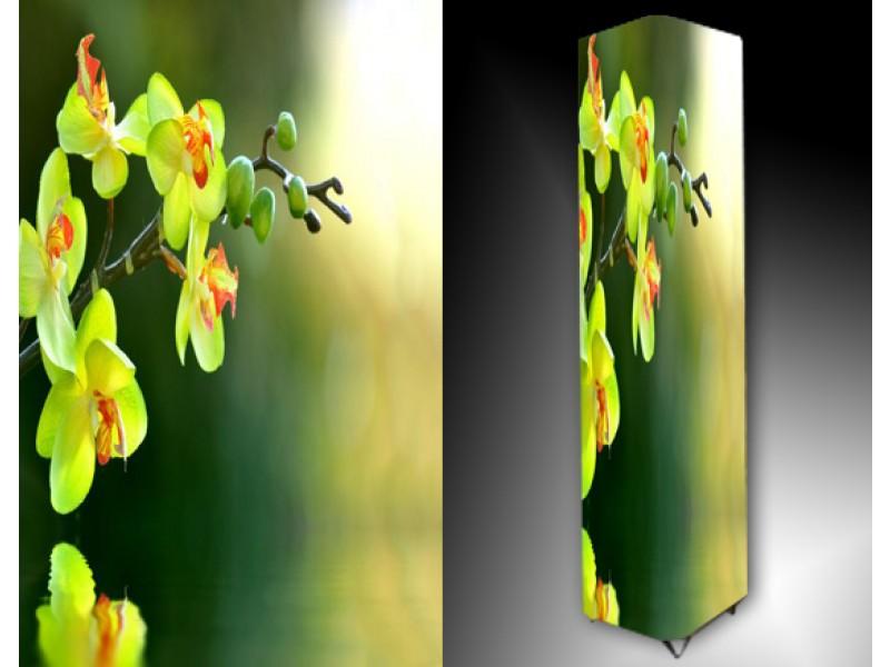 Ledlamp 1153, Orchidee, Groen, Oranje, Wit