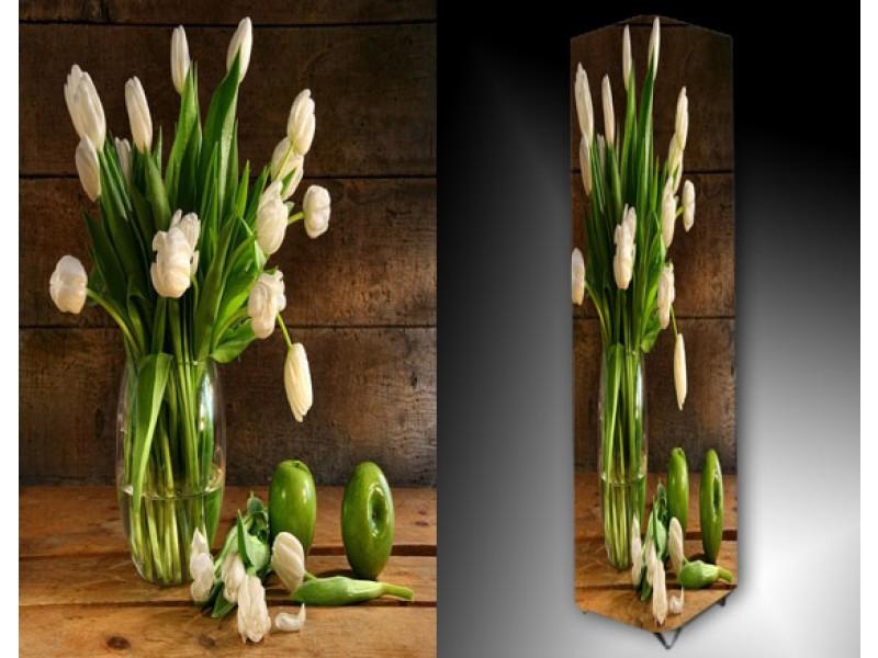 Ledlamp 1188, Tulpen, Wit, Groen, Bruin