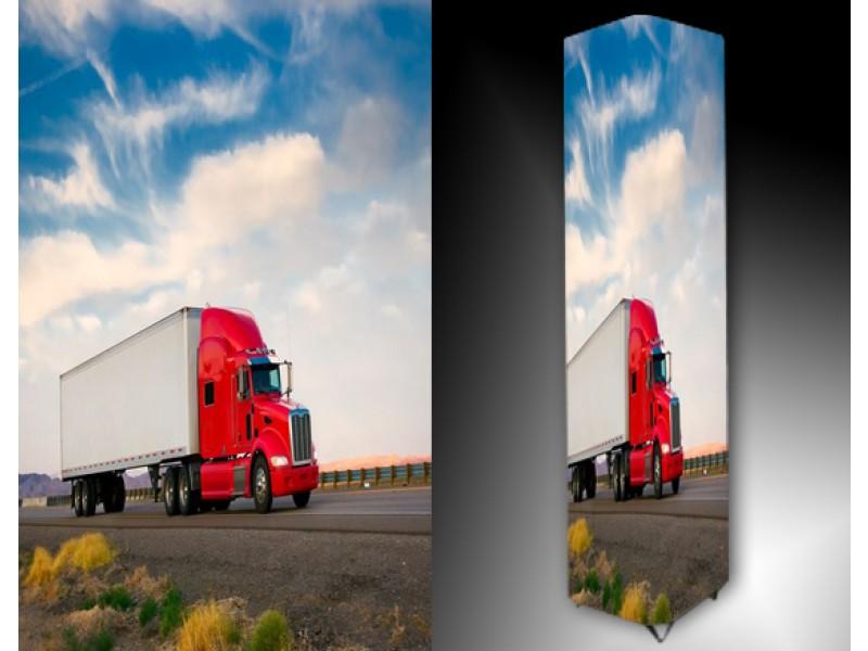 Ledlamp 1522, Vrachtwagen, Blauw, Rood, Wit