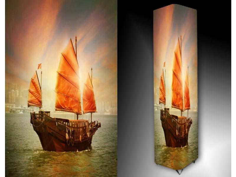 Ledlamp 1538, Boot, Oranje, Groen, Bruin