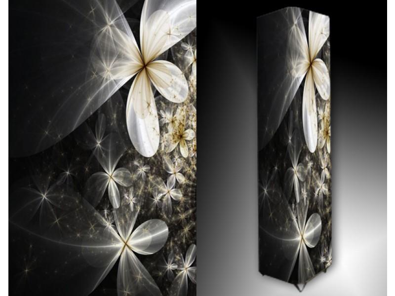 Ledlamp 173, Abstract, Zwart, Grijs, Geel