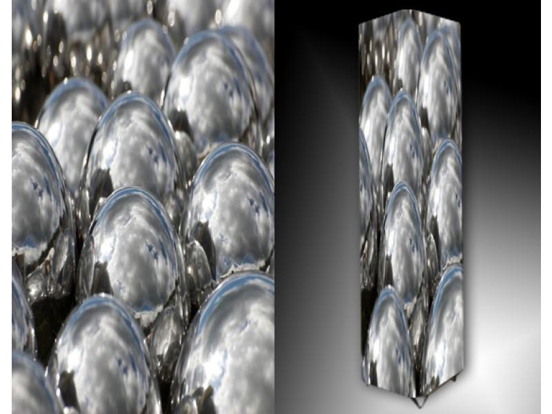 Ledlamp 177, Abstract, Zwart, Wit, Grijs