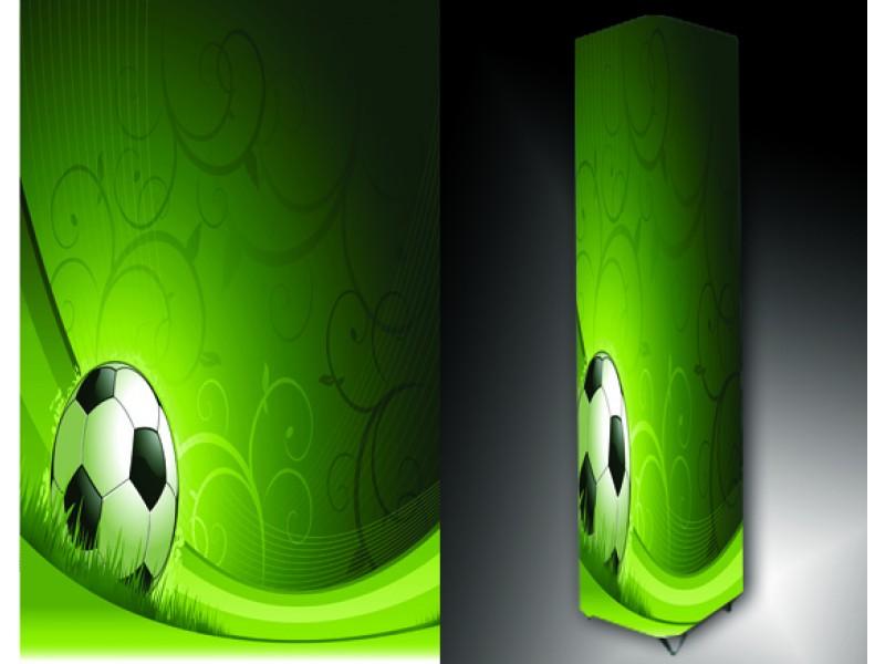 Ledlamp 201, Abstract, Groen, Wit, Zwart