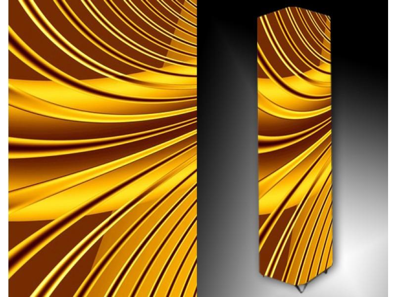 Ledlamp 24, Abstract, Geel, Bruin