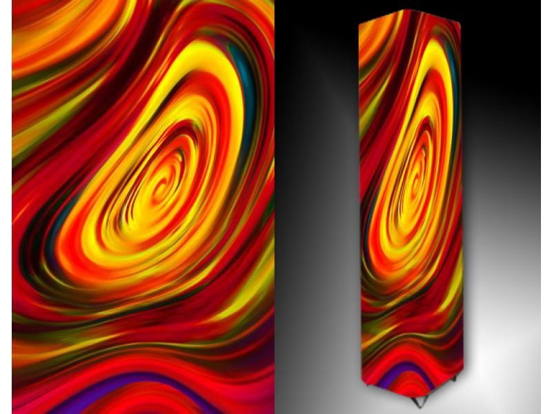 Ledlamp 29, Abstract, Rood, Geel, Blauw