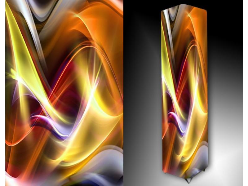 Ledlamp 39, Abstract, Geel, Rood, Oranje