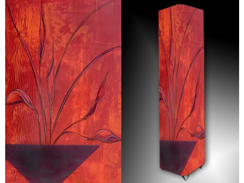 Ledlamp 44, Abstract, Rood, Oranje, Paars