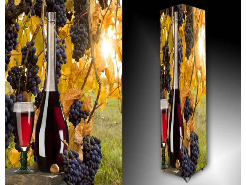 Ledlamp 625, Druiven, Rood, Blauw, Geel