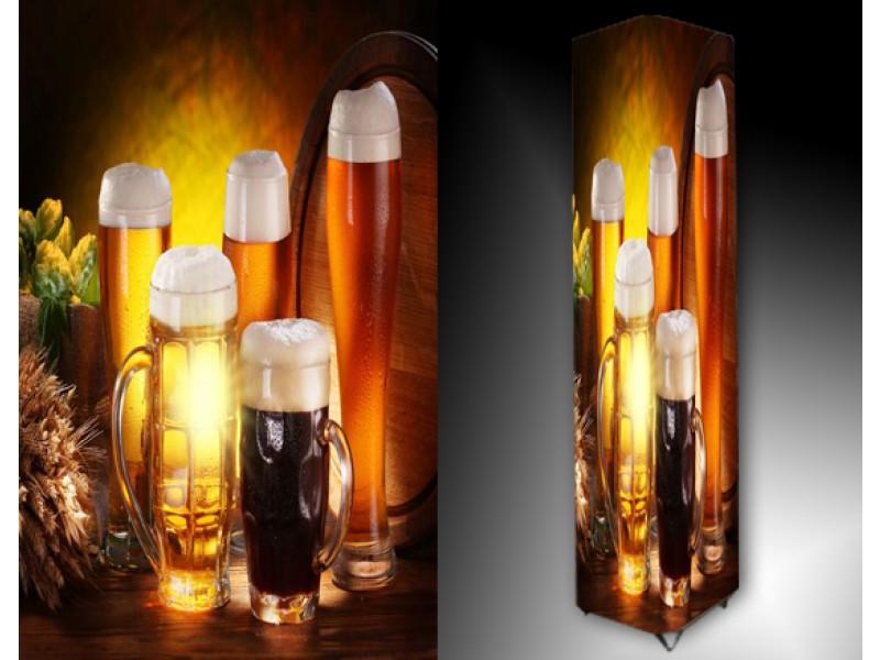 Ledlamp 631, Bier, Geel, Oranje, Bruin