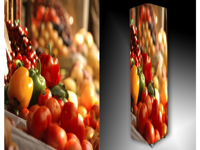 Ledlamp 639, Fruit, Rood, Geel, Groen