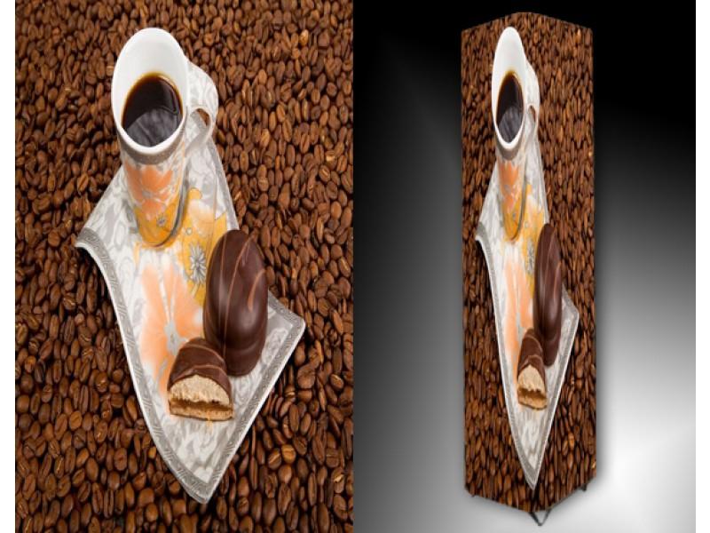 Ledlamp 663, Koffie, Bruin, Wit