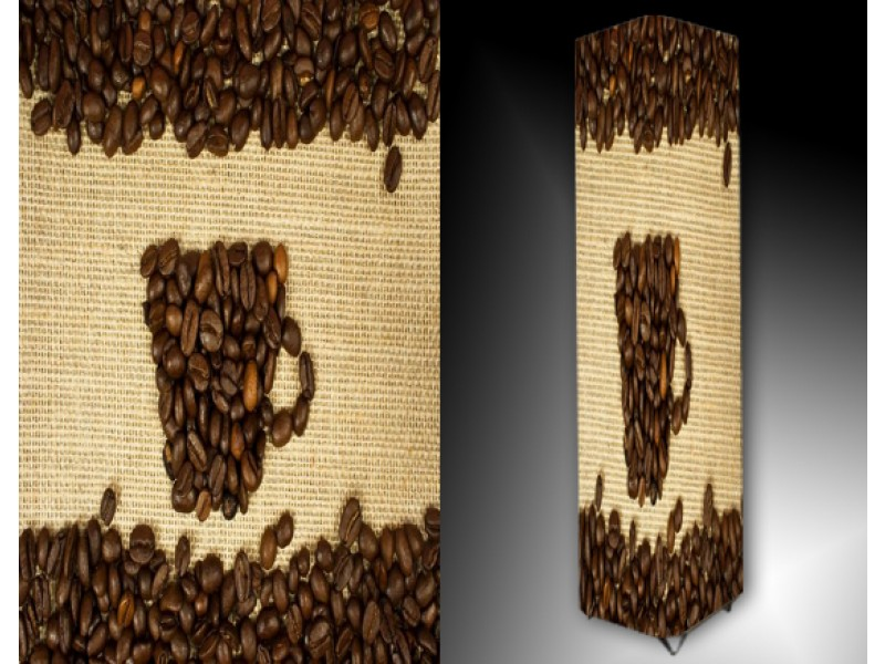Ledlamp 673, Koffie, Bruin, Creme