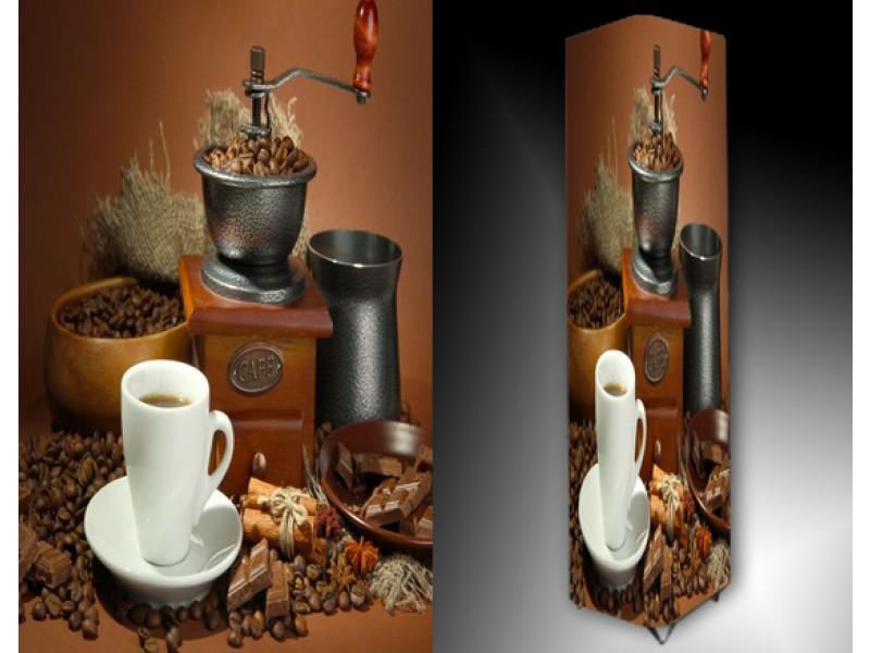 Ledlamp 696, Koffie, Bruin, Wit, Grijs