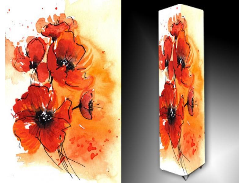 Ledlamp 711, Bloem, Rood, Oranje, Geel