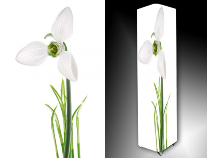Ledlamp 715, Bloem, Wit, Groen