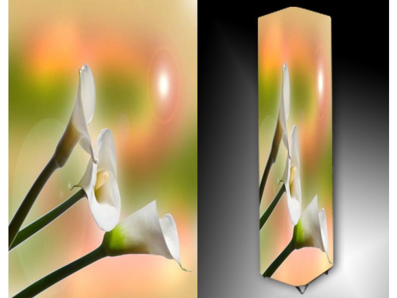 Ledlamp 739, Bloem, Wit, Groen, Oranje