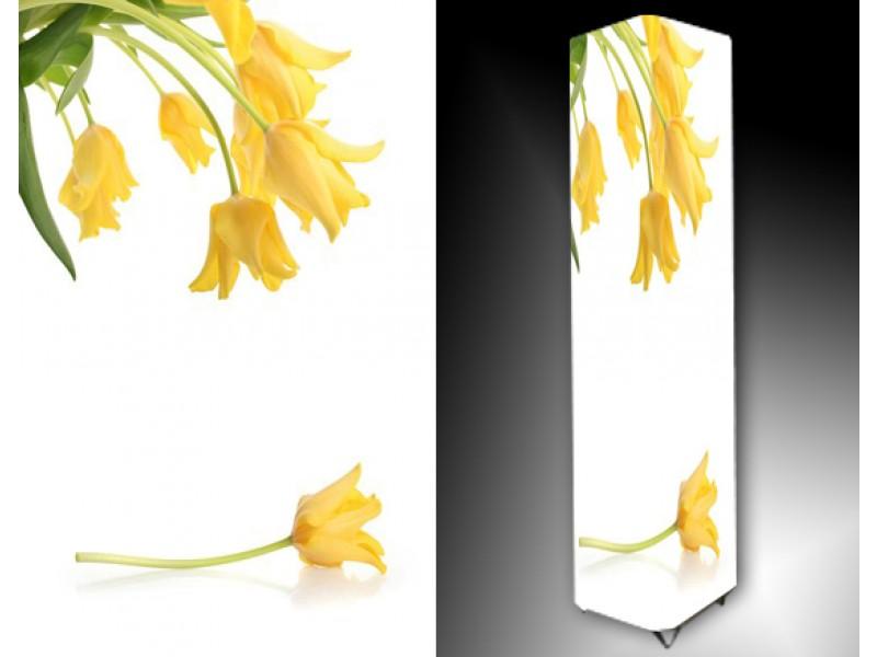 Ledlamp 744, Bloem, Wit, Geel, Groen