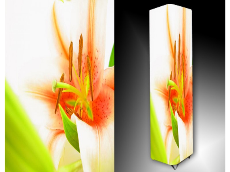 Ledlamp 758, Bloem, Groen, Oranje, Wit