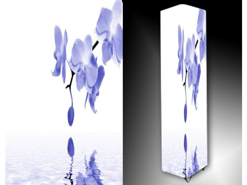 Ledlamp 774, Orchidee, Blauw, Wit